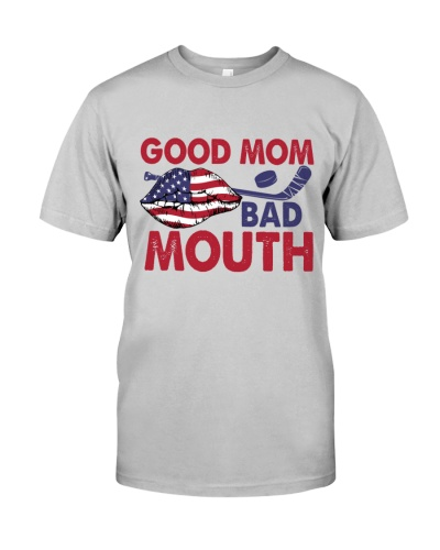 Hockey Good Mom Bad Mouth