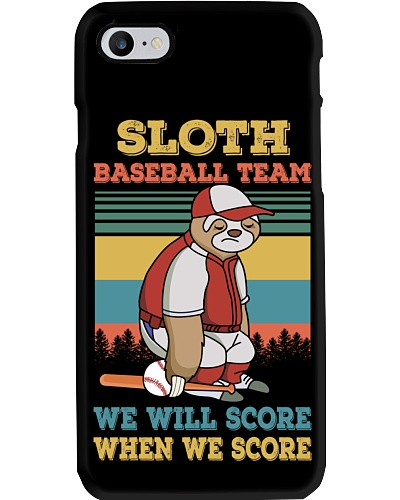Baseball Sloth Team We Will Get The