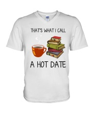 Book That's What I Call A Hot Date V-Neck T-Shirt thumbnail
