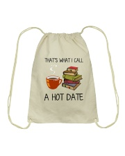 Book That's What I Call A Hot Date Drawstring Bag thumbnail