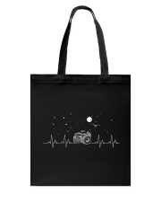 Photography Heartbeat Tote Bag tile