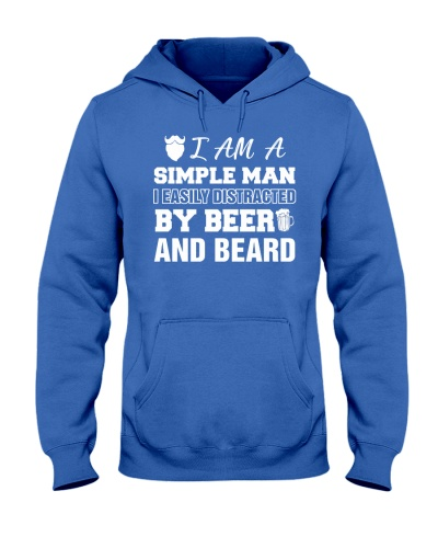 I easily distracted by beer and beard