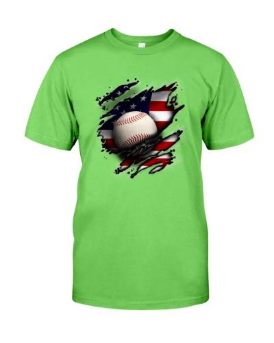 Baseball Flag America
