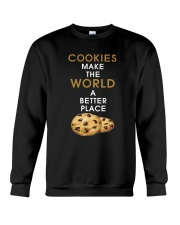 Cookies Make The World A Better Place Crewneck Sweatshirt thumbnail