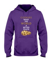 Cookies Make The World A Better Place Hooded Sweatshirt front