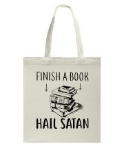 Finish A Book Tote Bag thumbnail
