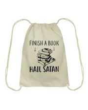 Finish A Book Drawstring Bag thumbnail