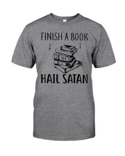 Finish A Book Classic T-Shirt front