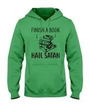 Finish A Book Hooded Sweatshirt thumbnail