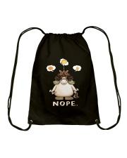 GYM - Unicorn Nope Drawstring Bag thumbnail