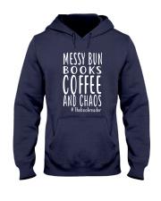 BOOK - Books coffee and chaos Hooded Sweatshirt thumbnail