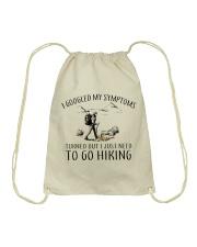 Just Need To Go Hiking Drawstring Bag thumbnail