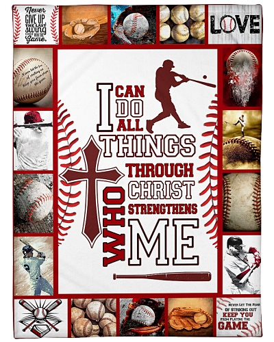 Baseball I Can Do All Things