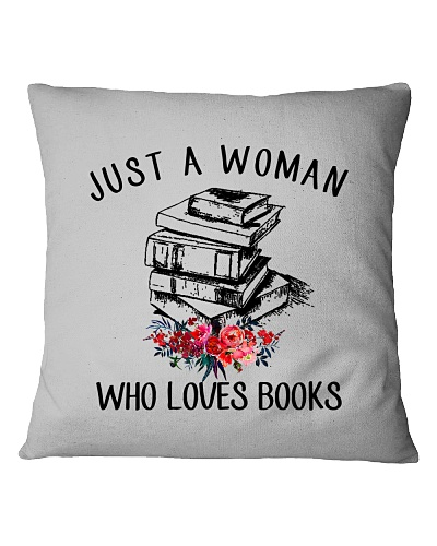 A Woman Loves Books