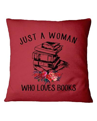 A Woman Loves Books