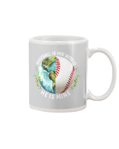 Baseball He Is Mine