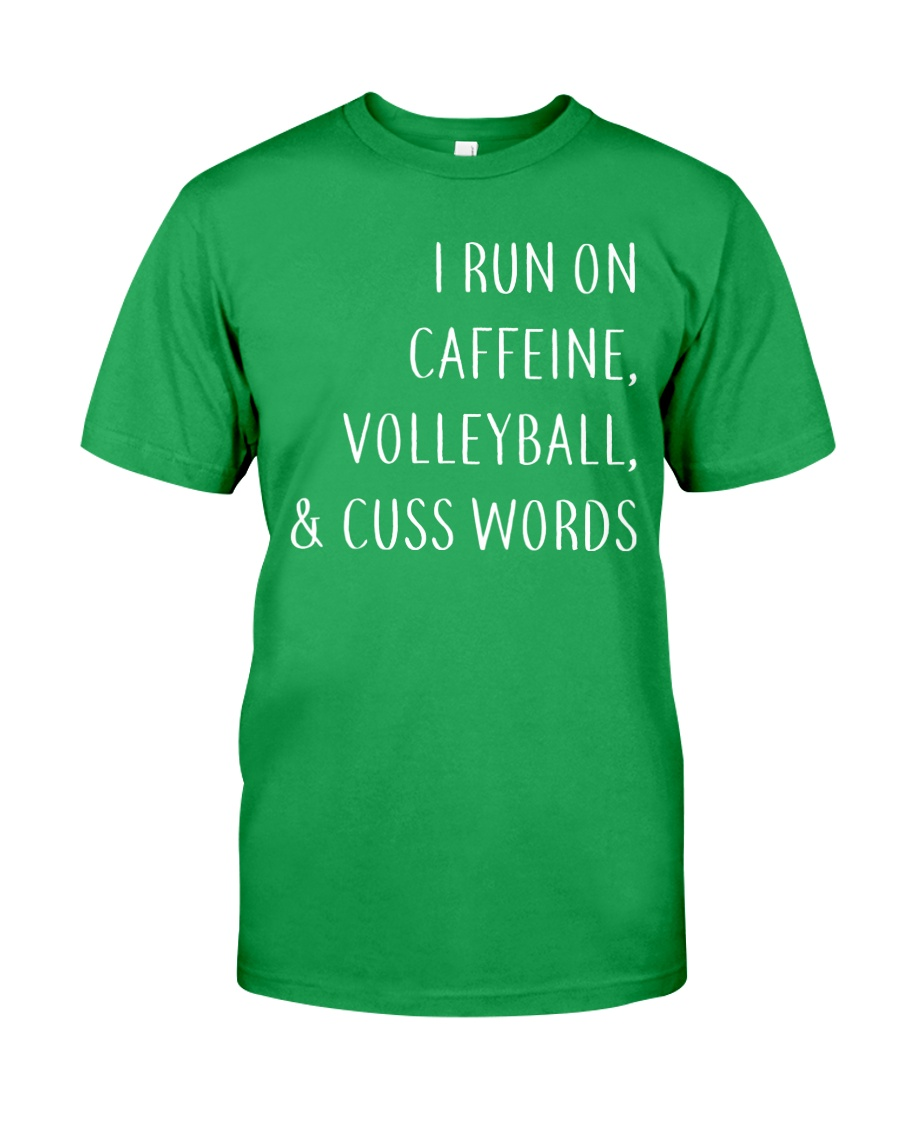 Volleyball And Cuss Words Classic T-Shirt