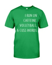Volleyball And Cuss Words Classic T-Shirt front