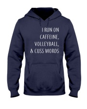 Volleyball And Cuss Words Hooded Sweatshirt thumbnail