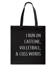 Volleyball And Cuss Words Tote Bag thumbnail