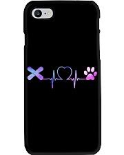 Snowboarding Dog Heartbeat Phone Case thumbnail