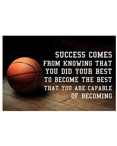 Basketball Success Comes From Knowing That You Did