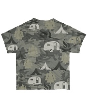Camping Camouflage All-over T-Shirt back