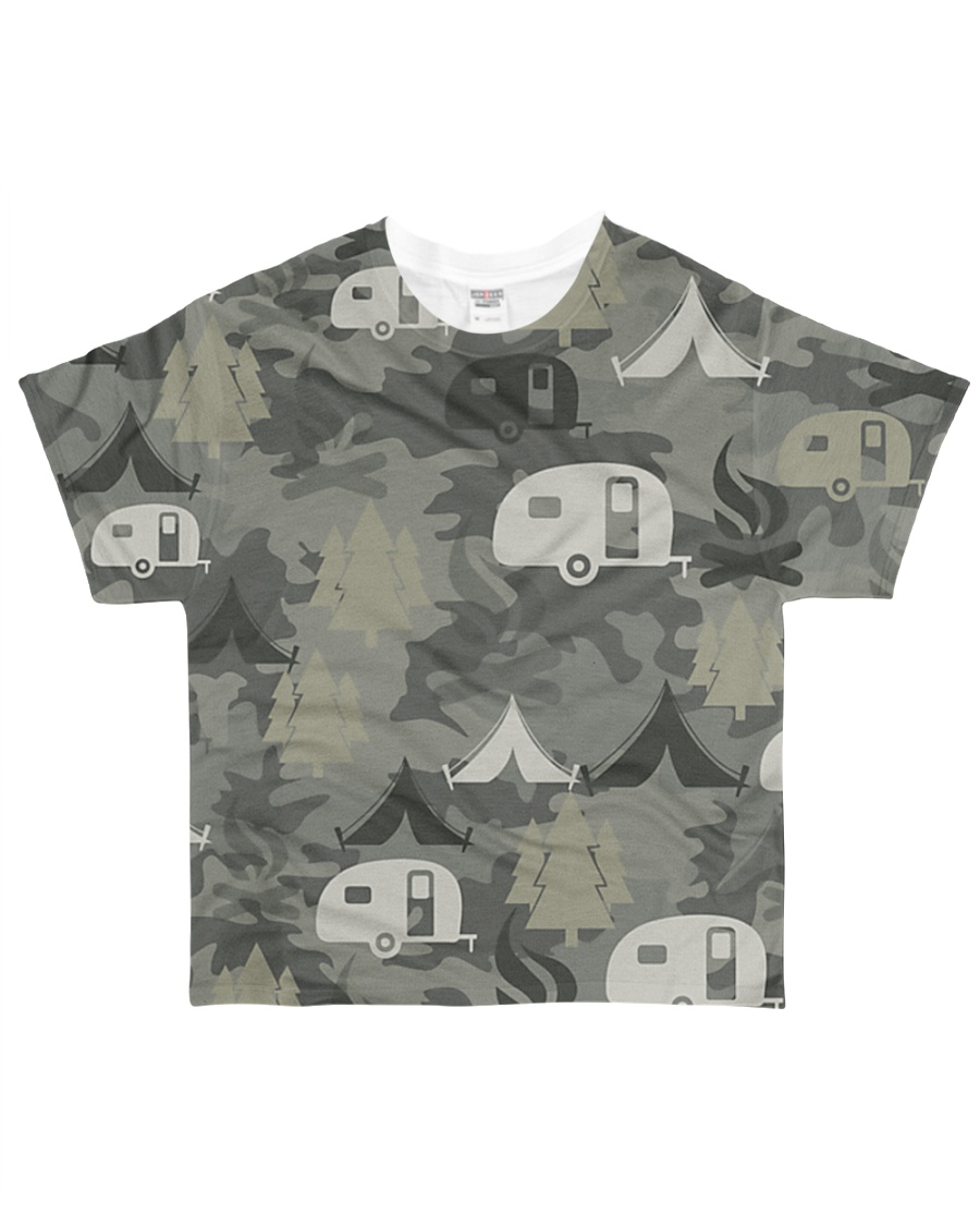 Camping Camouflage All-over T-Shirt