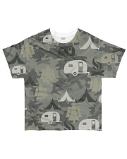 Camping Camouflage All-over T-Shirt front