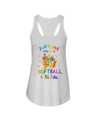 Softball Just A Girl