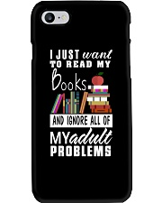 I just want to read my books Phone Case thumbnail