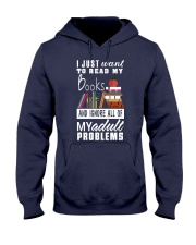I just want to read my books Hooded Sweatshirt thumbnail