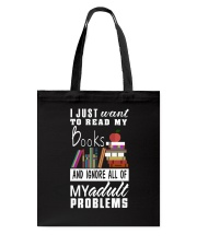I just want to read my books Tote Bag thumbnail