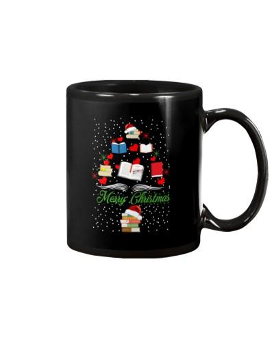 Book Tree Christmas