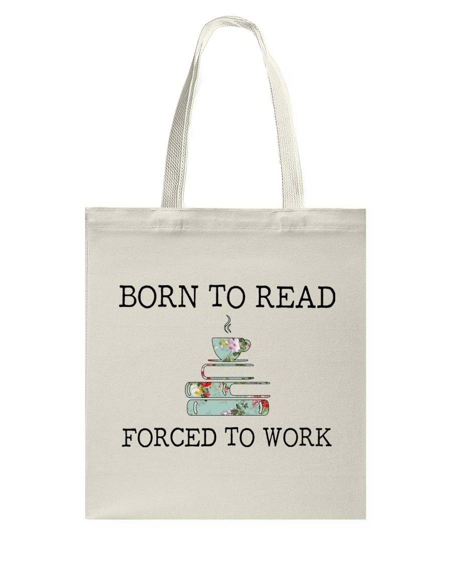 Books Born To Read Tote Bag