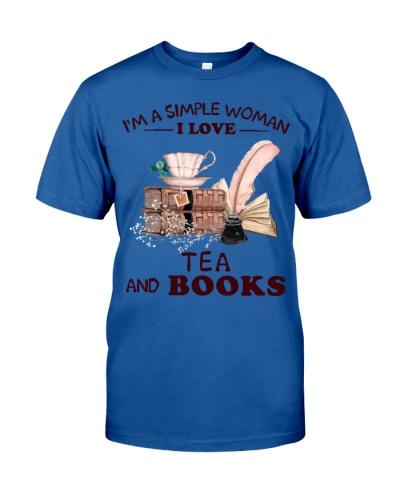 Books Tea I'm A Simple Woman