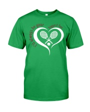Always Be Your Biggest Tennis Fan  Classic T-Shirt front