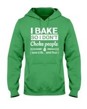 I bake Hooded Sweatshirt front