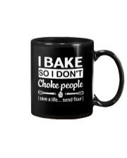 I bake Mug front