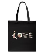Basketball Love Flower Tote Bag thumbnail