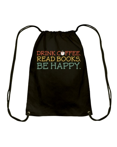 Books Drink Coffee Read Book And Happy