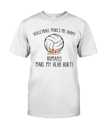 Volleyballs make Me Happy