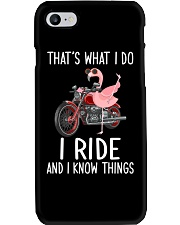 I Ride And i Know Things Phone Case thumbnail