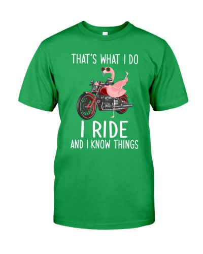 I Ride And i Know Things