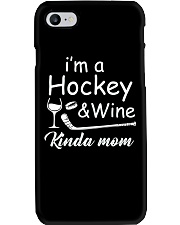 Im A Hockey And Wine Phone Case thumbnail