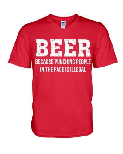 Beer Punching People