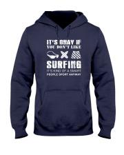Surfing Sport Away Hooded Sweatshirt thumbnail