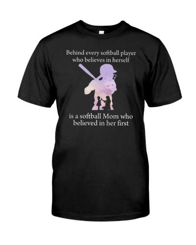 Softball Behind Every Softball Player