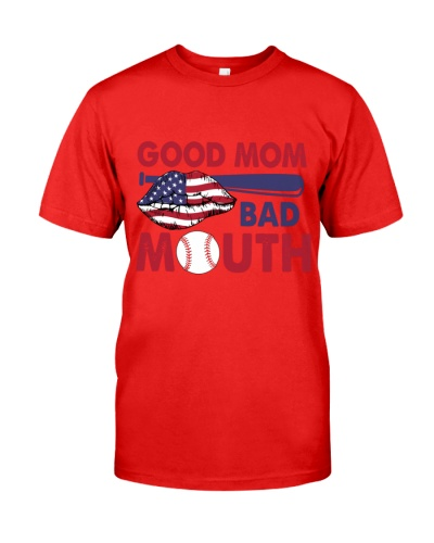 Baseball Good Mom Bad Mouth