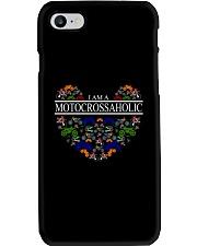 motocross - motocrossaholic Phone Case thumbnail